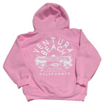 Pink Seaward Surf and Sport Ventura Beach sweatshirt for sale in store